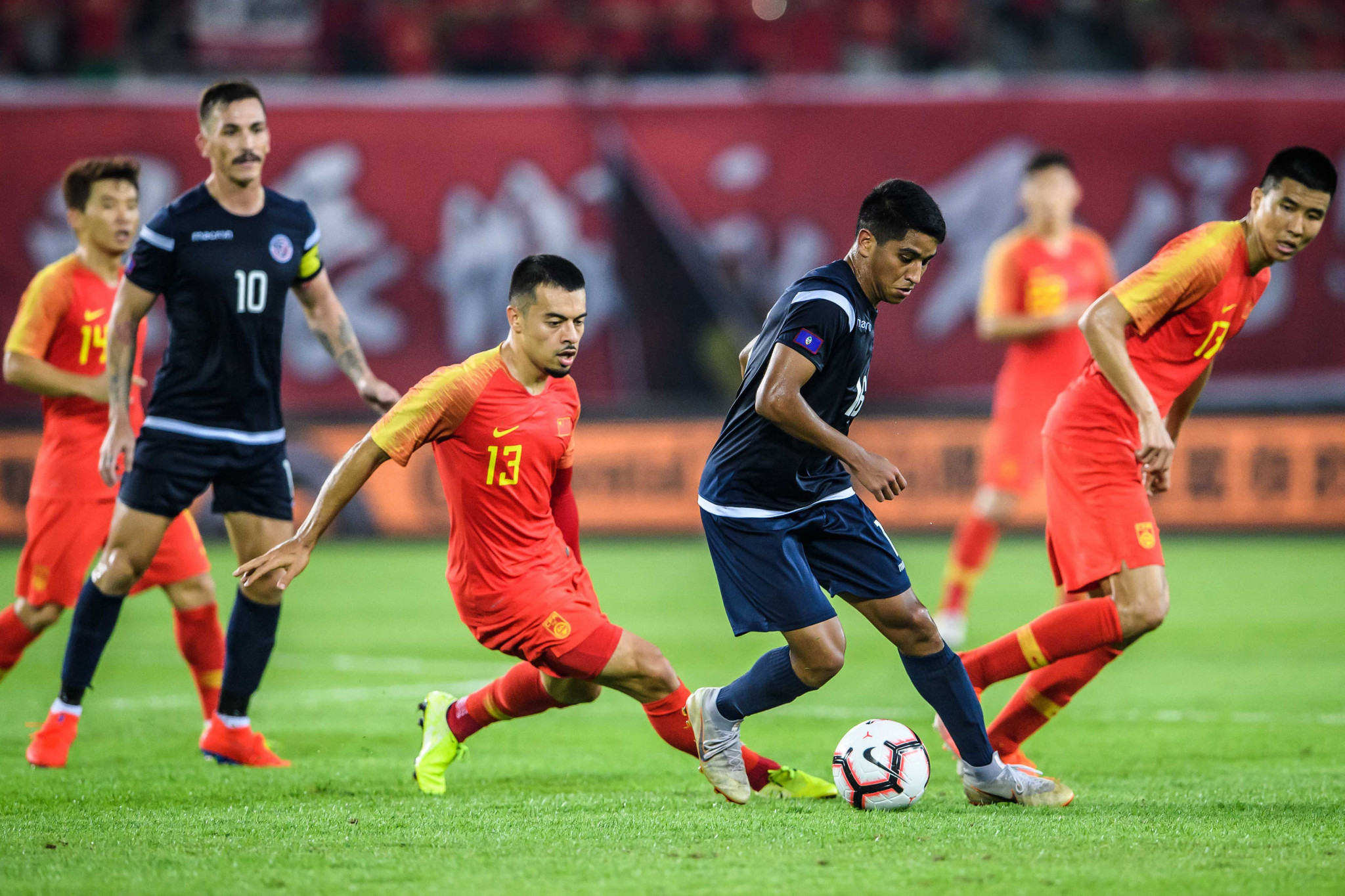 China will meet Maldives and Guam at Chang Arena in Buri Ram ©Getty Images