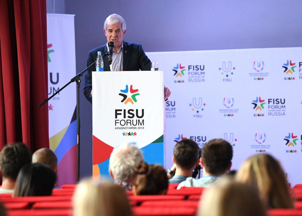 Krasnoyarsk was the last host of the FISU World Forum in 2018 ©Getty Images