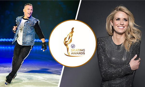 Stojko and Meunier to host ISU Skating Awards