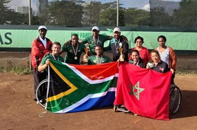 South Africa and Morocco qualified in Nairobi ©ITF
