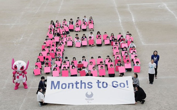 Tokyo 2020 mark six-month countdown to Paralympics with school event