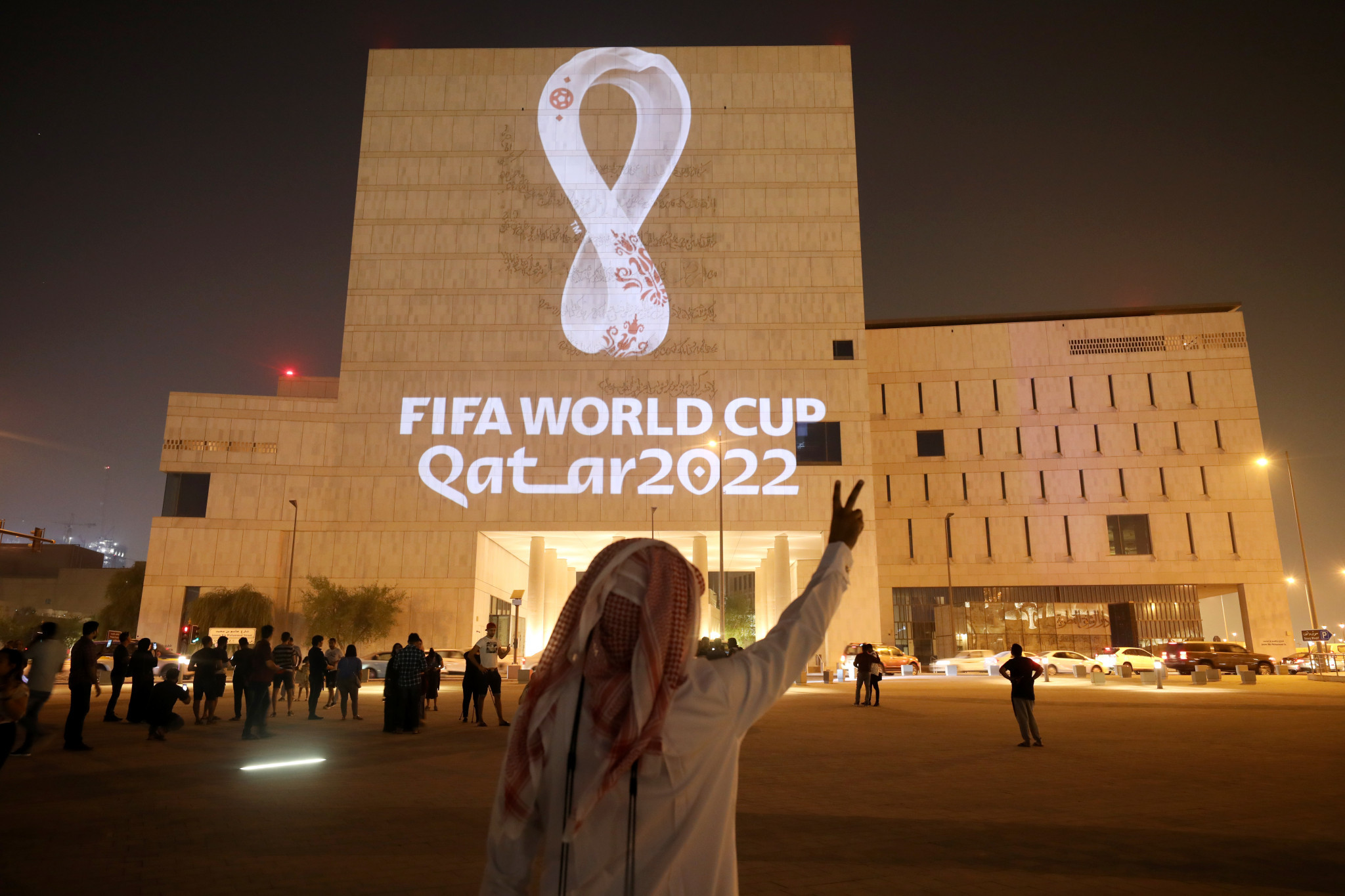 "Qatar ""on track"" with 1,000 days to go until FIFA World Cup"