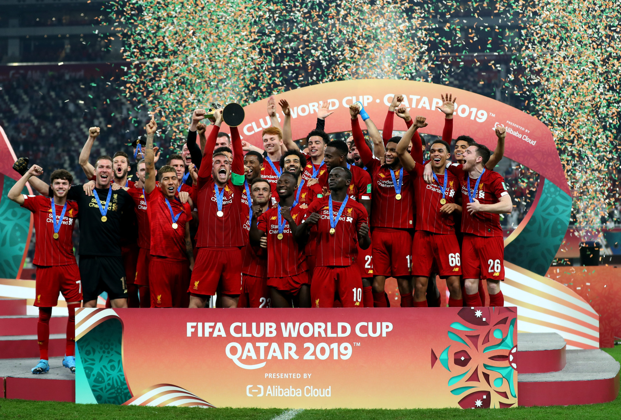 Liverpool won the FIFA Club World Cup in Qatar in December ©Getty Images