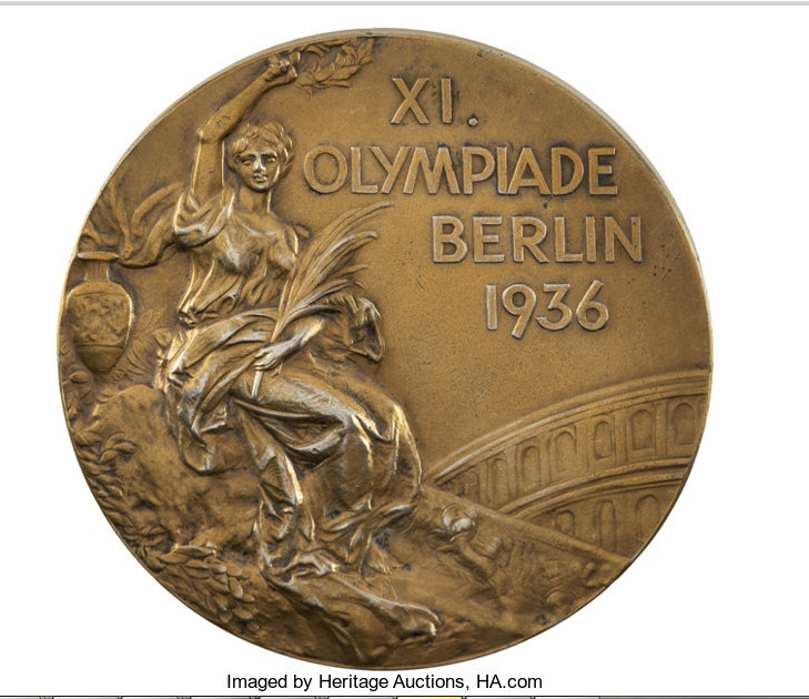 Olympic basketball gold medal from Berlin 1936 goes up for auction