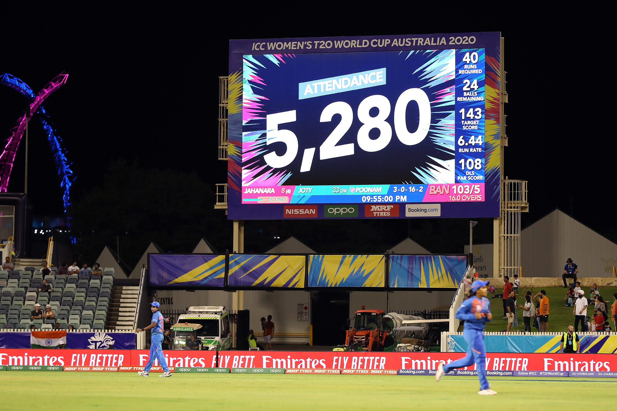 Women's T20 World Cup sets series of Australian records