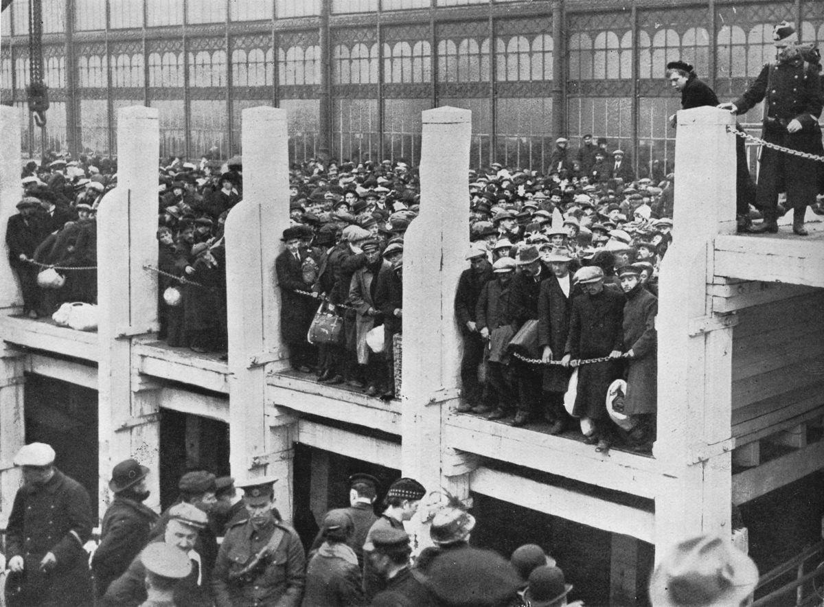 Belgium was left ravaged by World War One ©Wikipedia