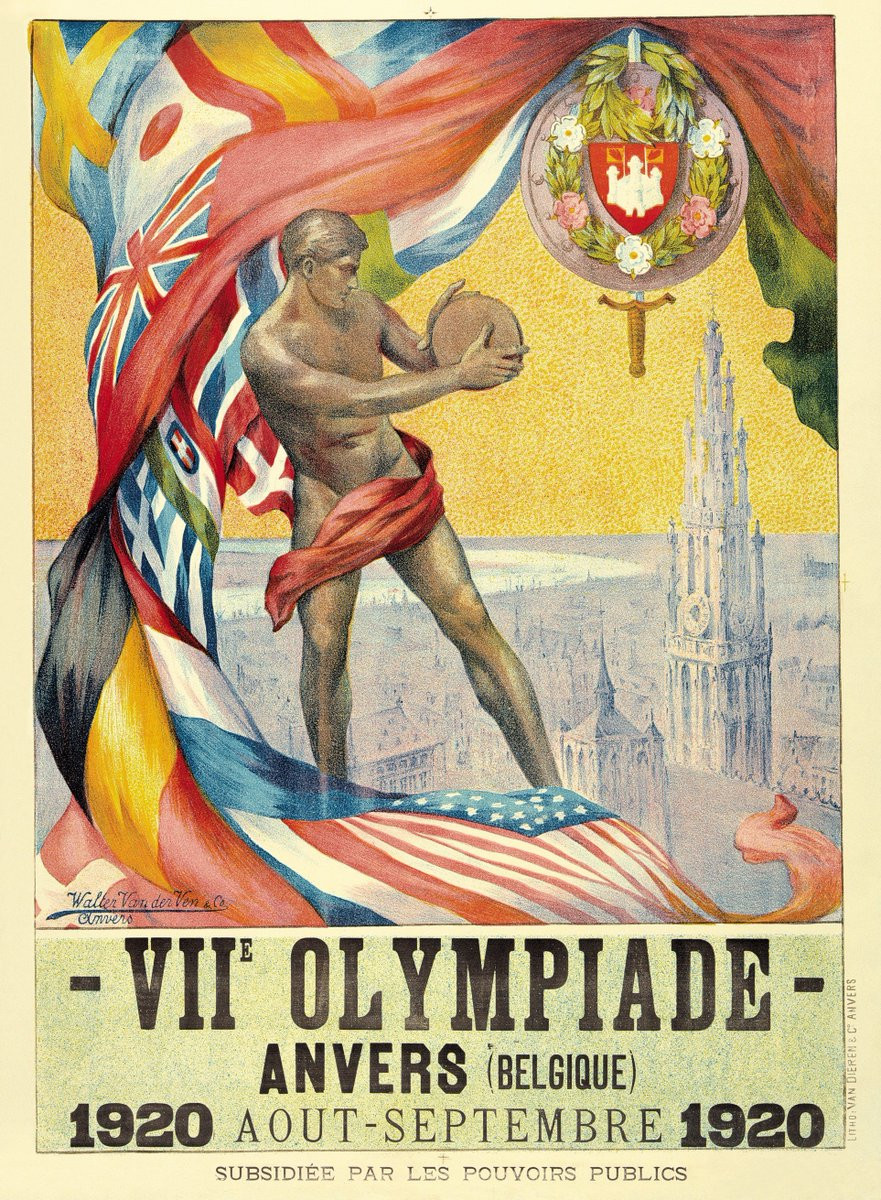 Special efforts were needed to ensure that Antwerp was ready to host the 1920 Olympic ©Olympic Museum