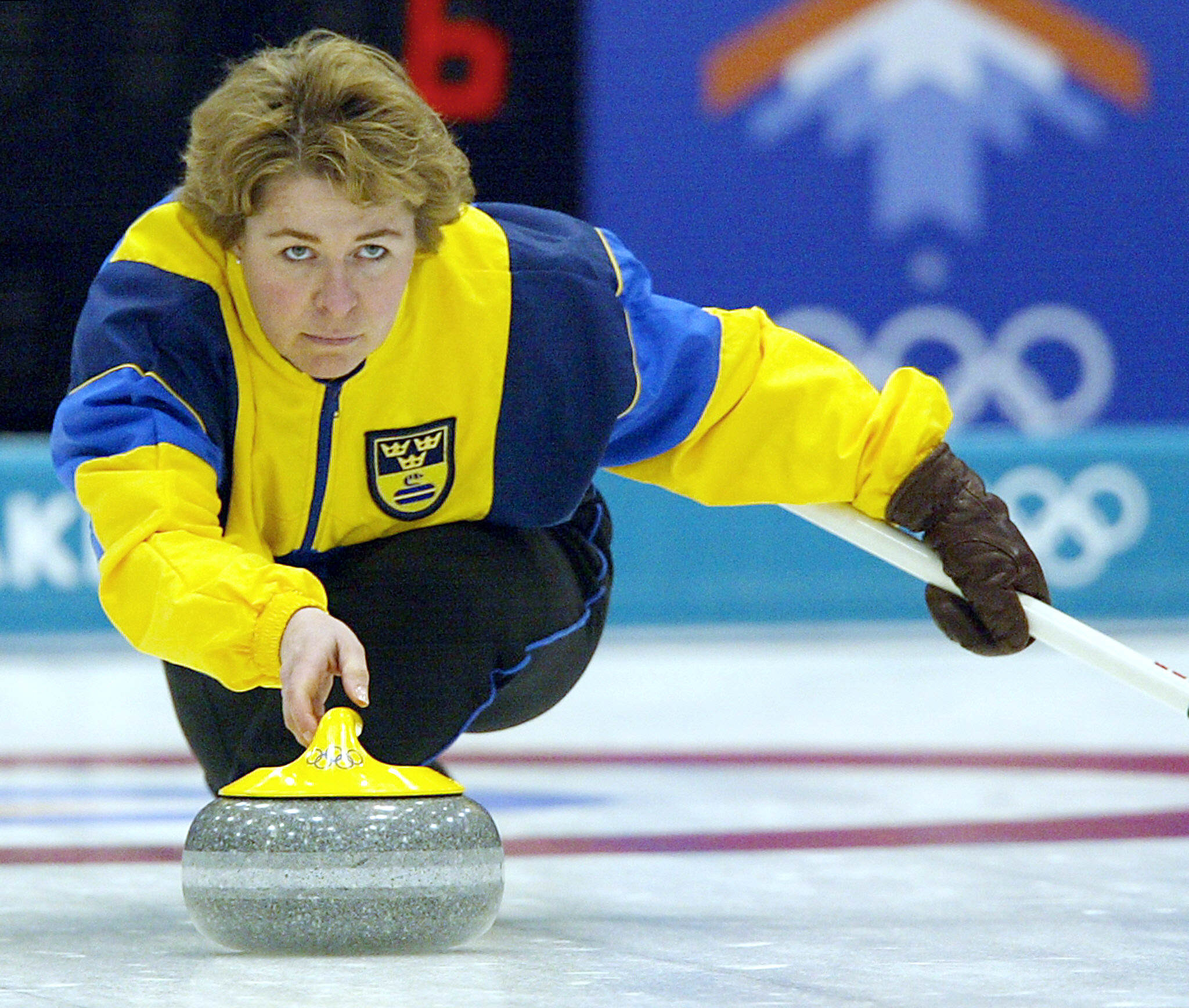 Elisabet Gustafson competed at two Winter Olympic Games, including Salt Lake City 2002 ©Getty Images
