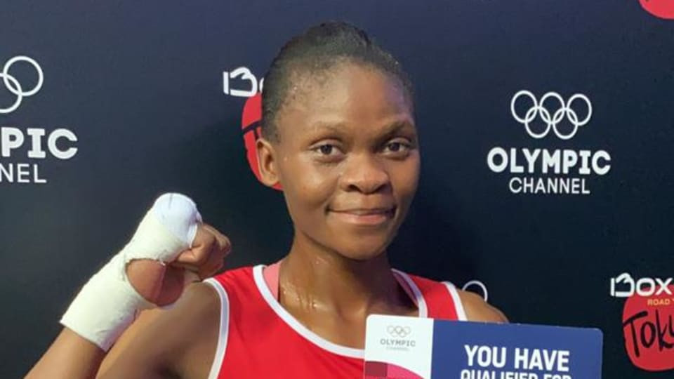 Kenosi becomes first boxer to book Tokyo 2020 place at African Olympic qualifier