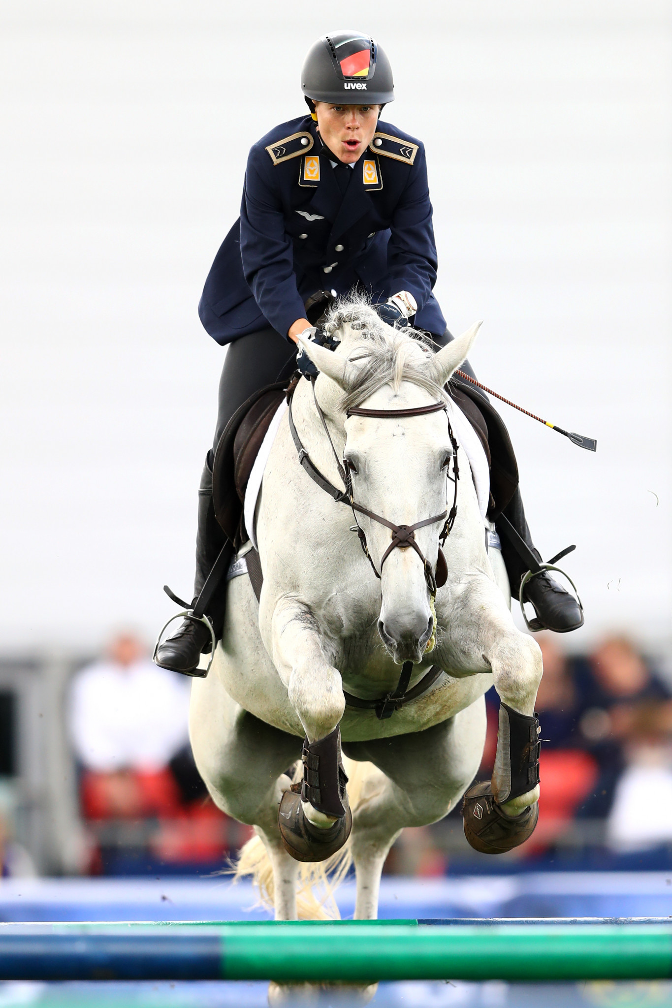 Germany's Annika Schleu topped the B qualification standings ©Getty Images