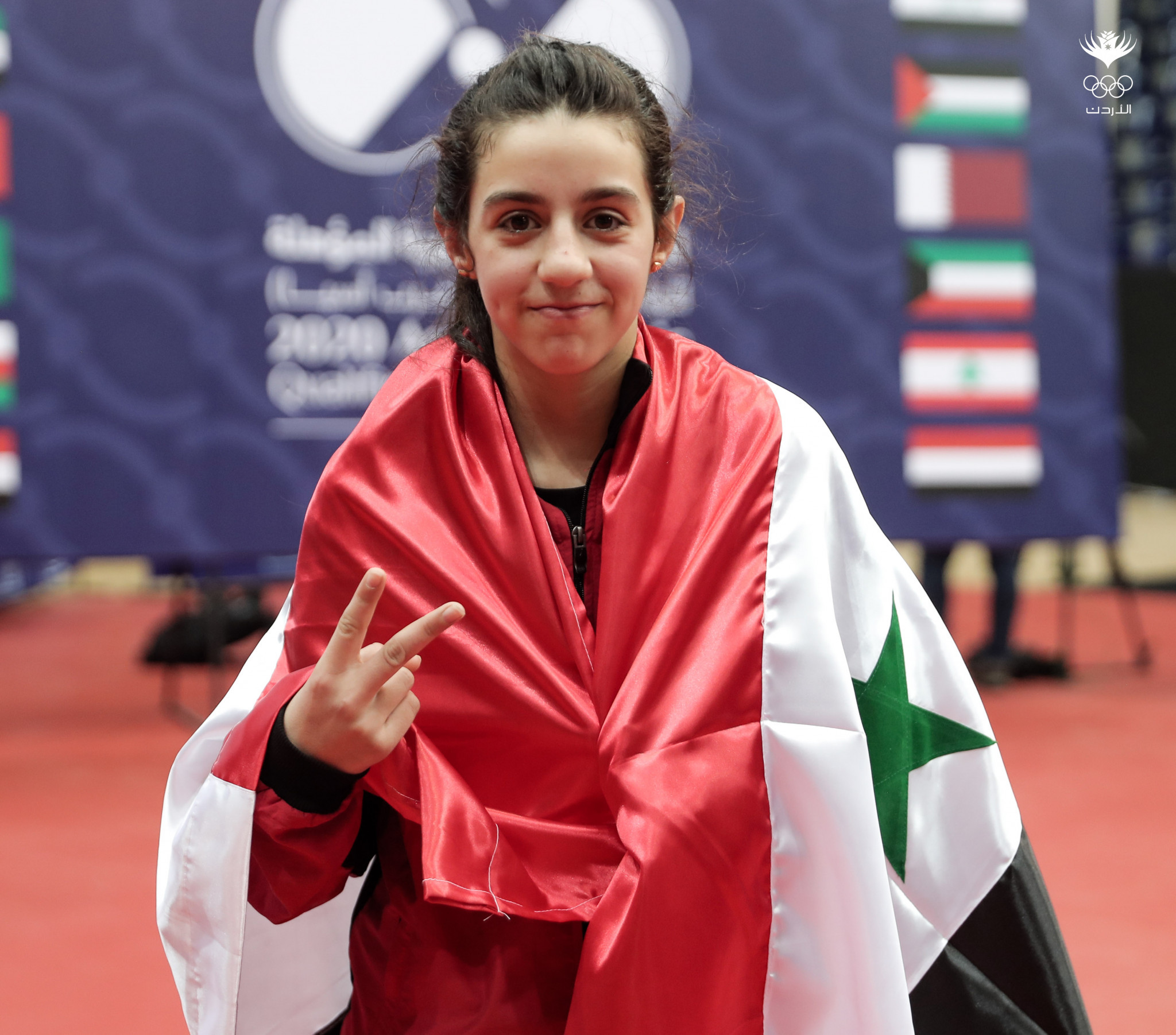 Eleven-year-old Syrian qualifies for Tokyo 2020 table tennis tournament