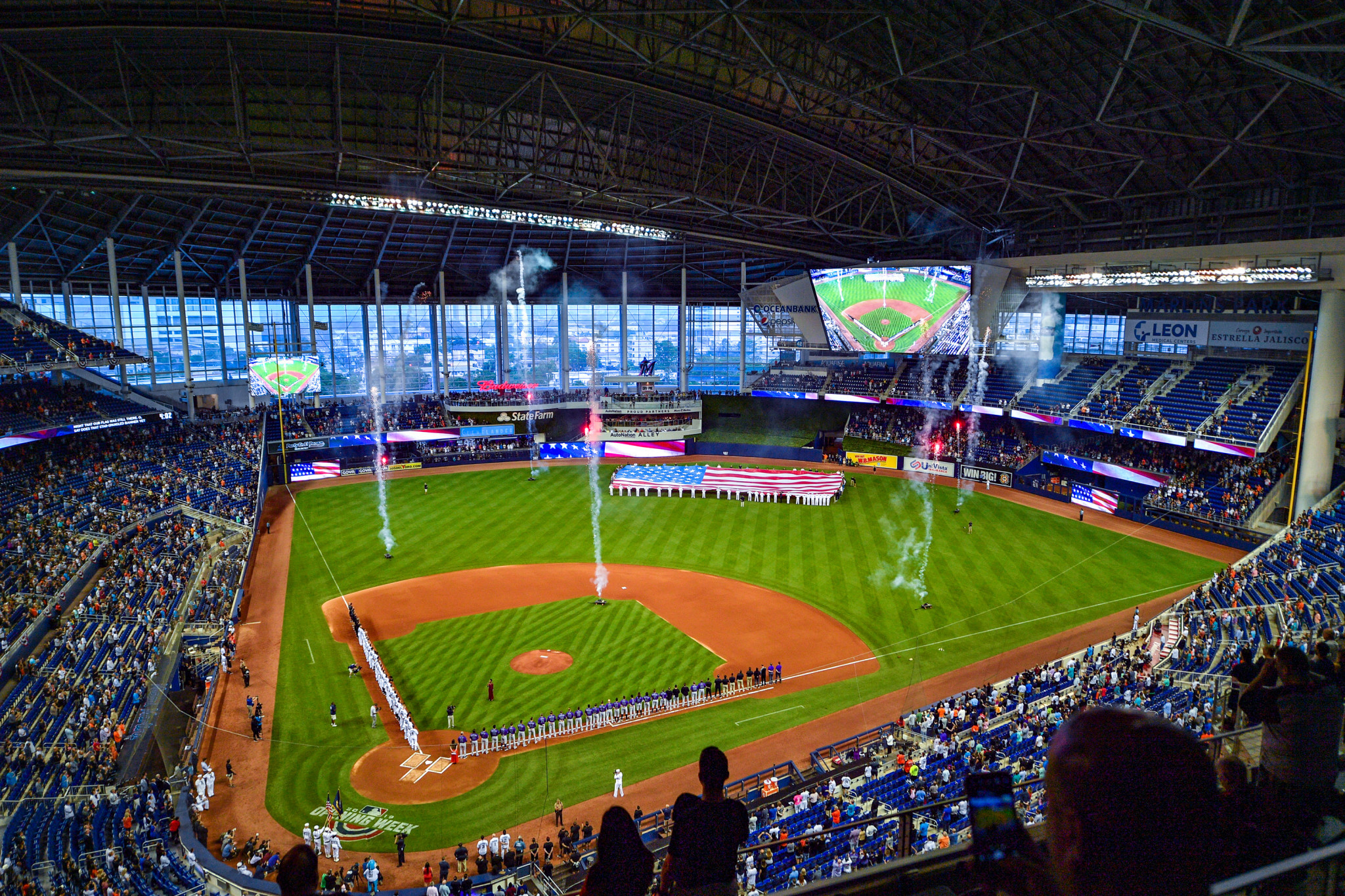 Marlins Park will host the 2021 World Baseball Classic final ©Getty Images