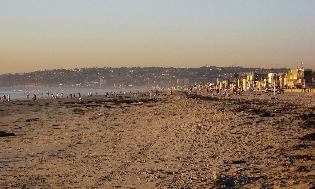 The inaugural World Beach Games will take place on San Diego's Mission Beach in 2017 ©Getty Images