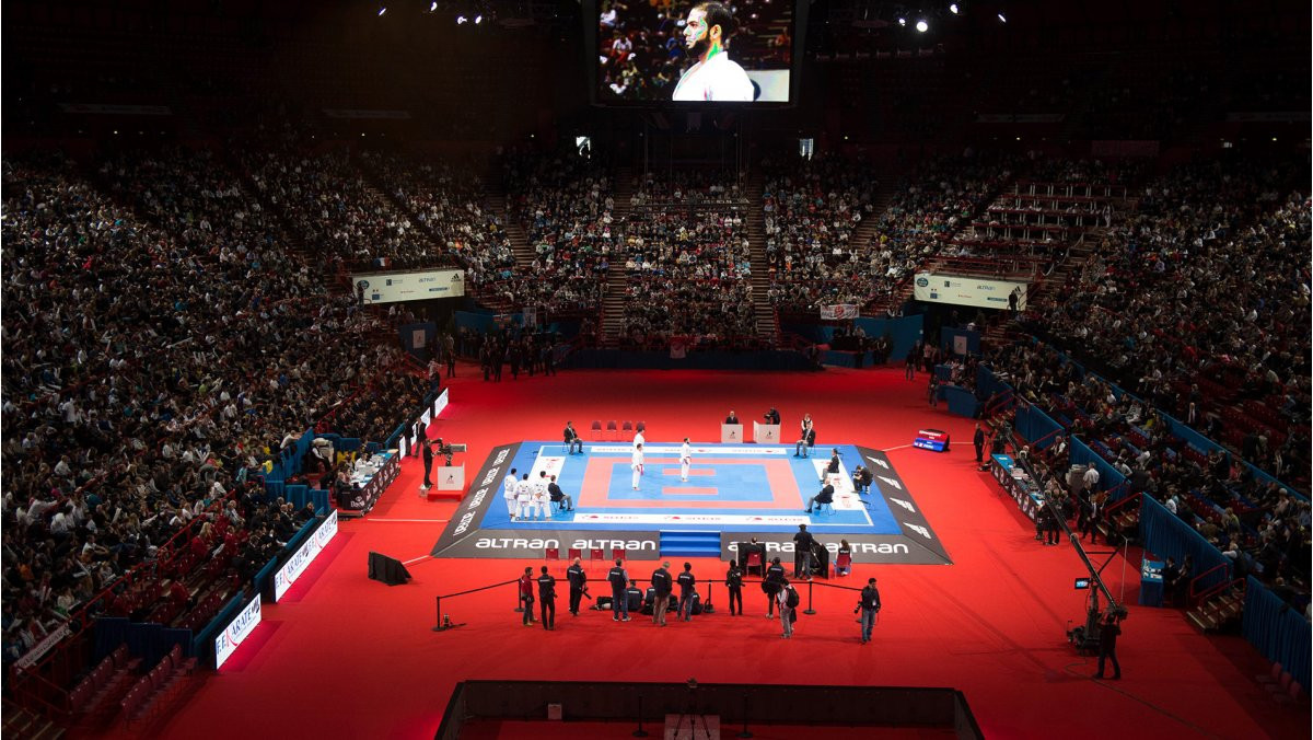 Paris was due to host karate's Olympic Qualification Tournament in 2020, which will now be re-arranged ©WKF