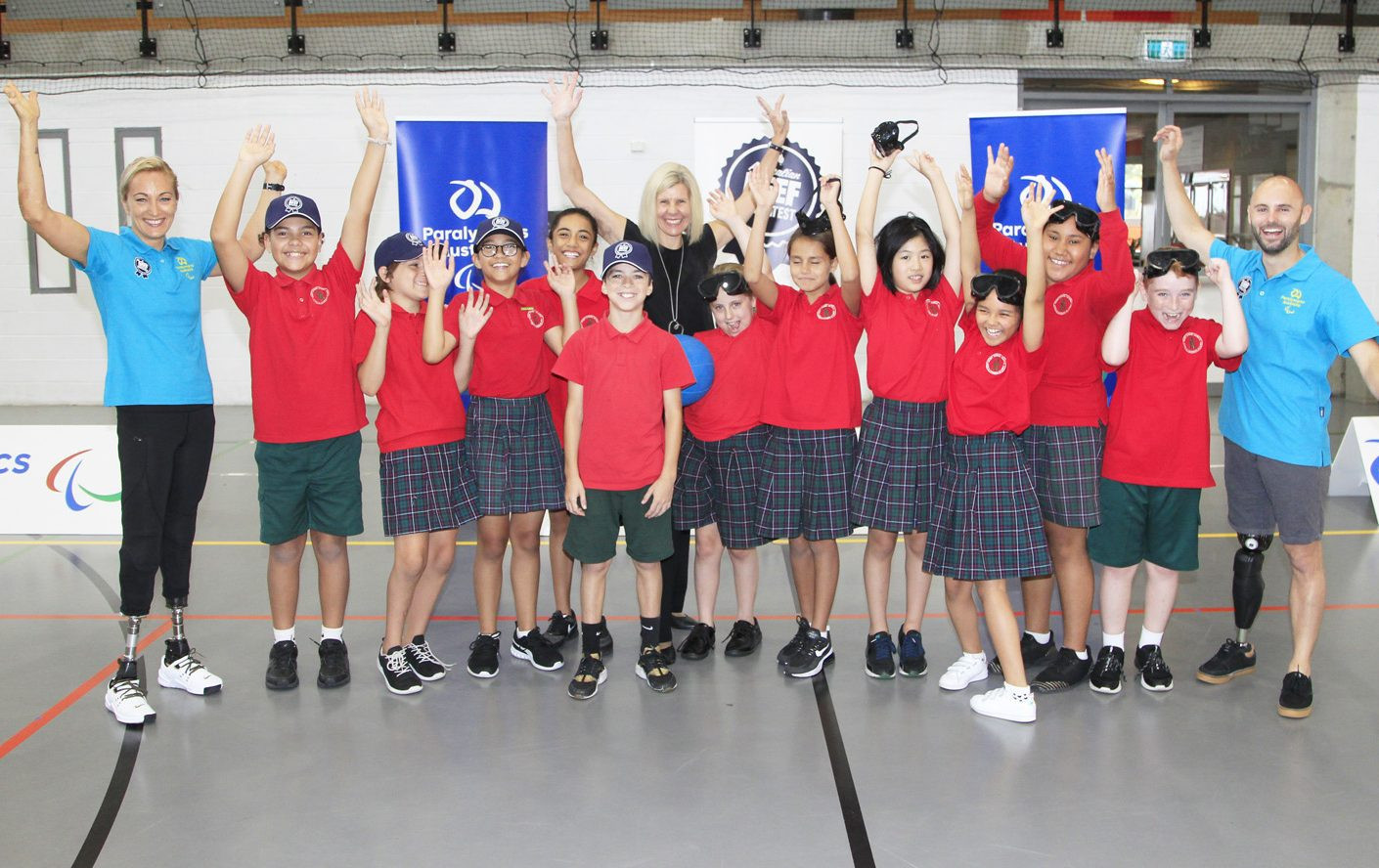 Paralympics Australia has today re-launched its Paralympic Education Project ©Paralympics Australia