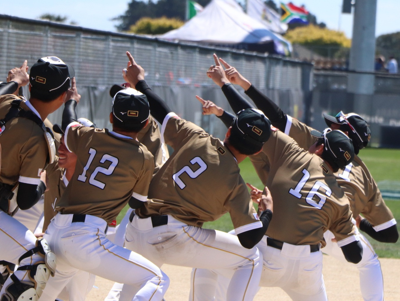 Australia and Japan remain in-form as super round begins at WBSC Under-18 Men's Softball World Cup