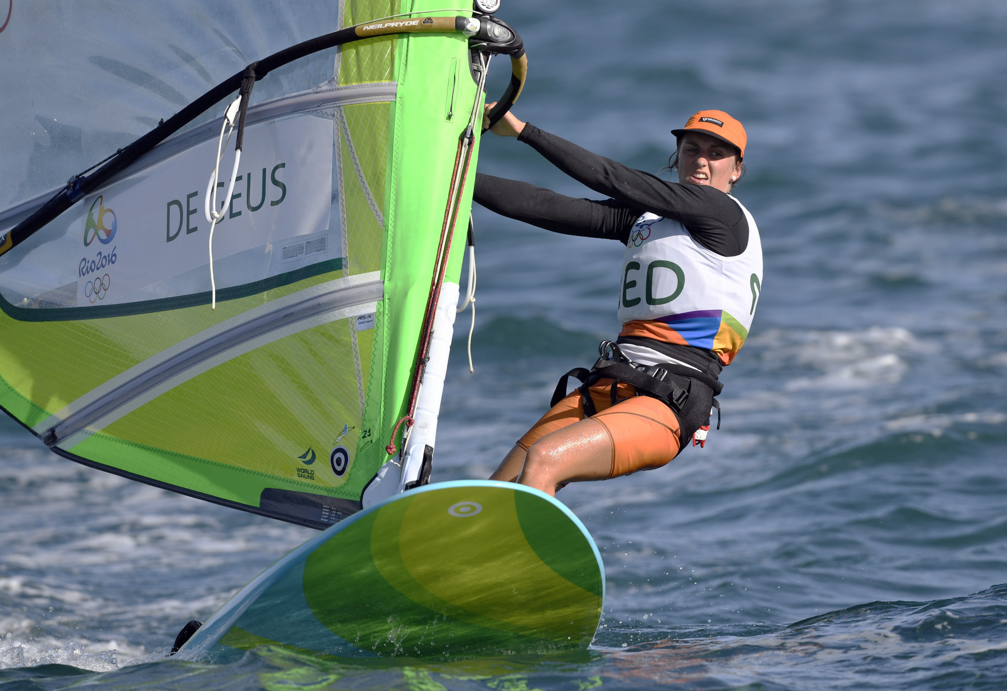 Israel's Drihan retains overall lead at RS:X World Championships