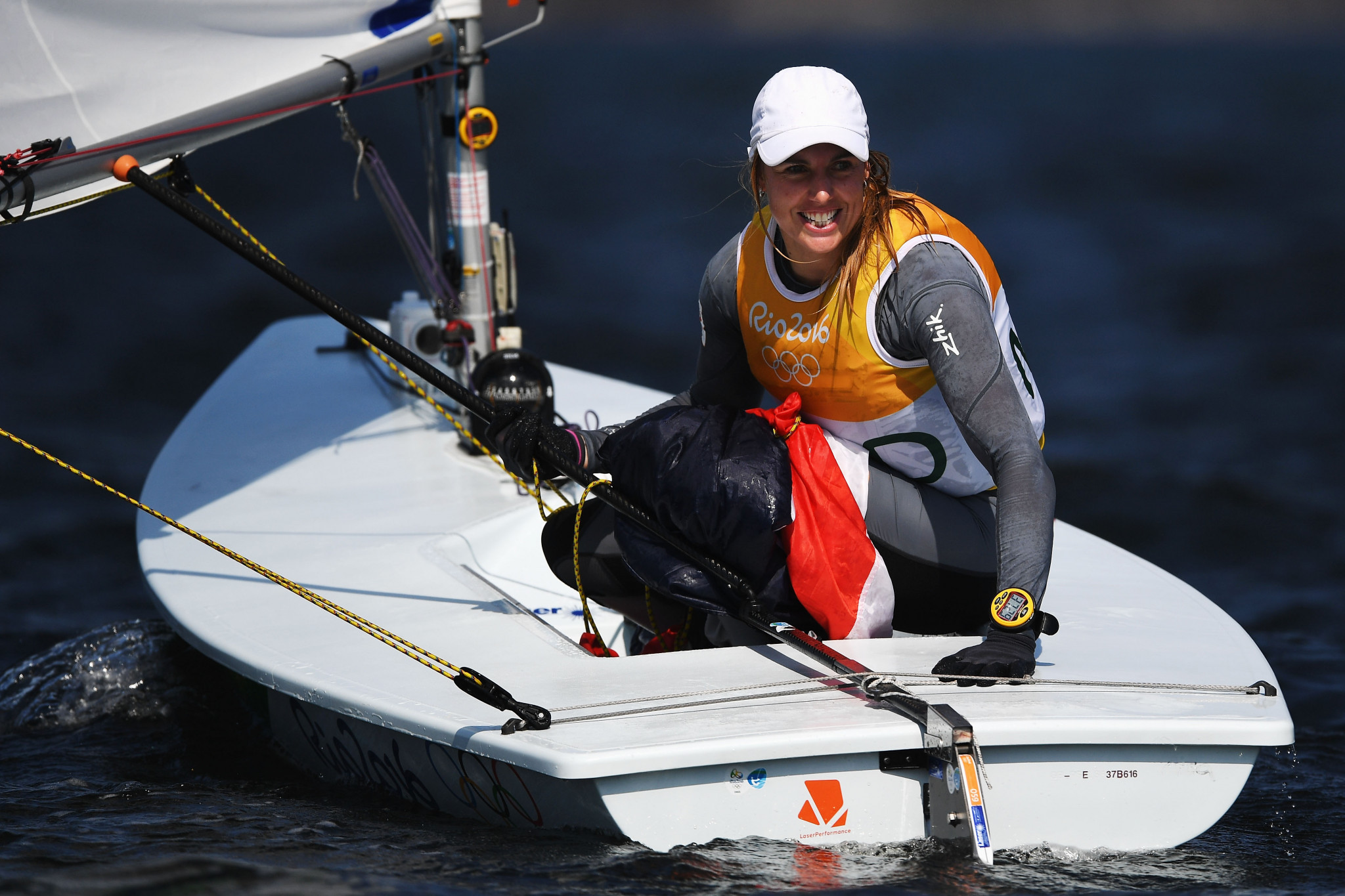 Bouwmeester opens up big lead at Laser Radial Women's World Championship
