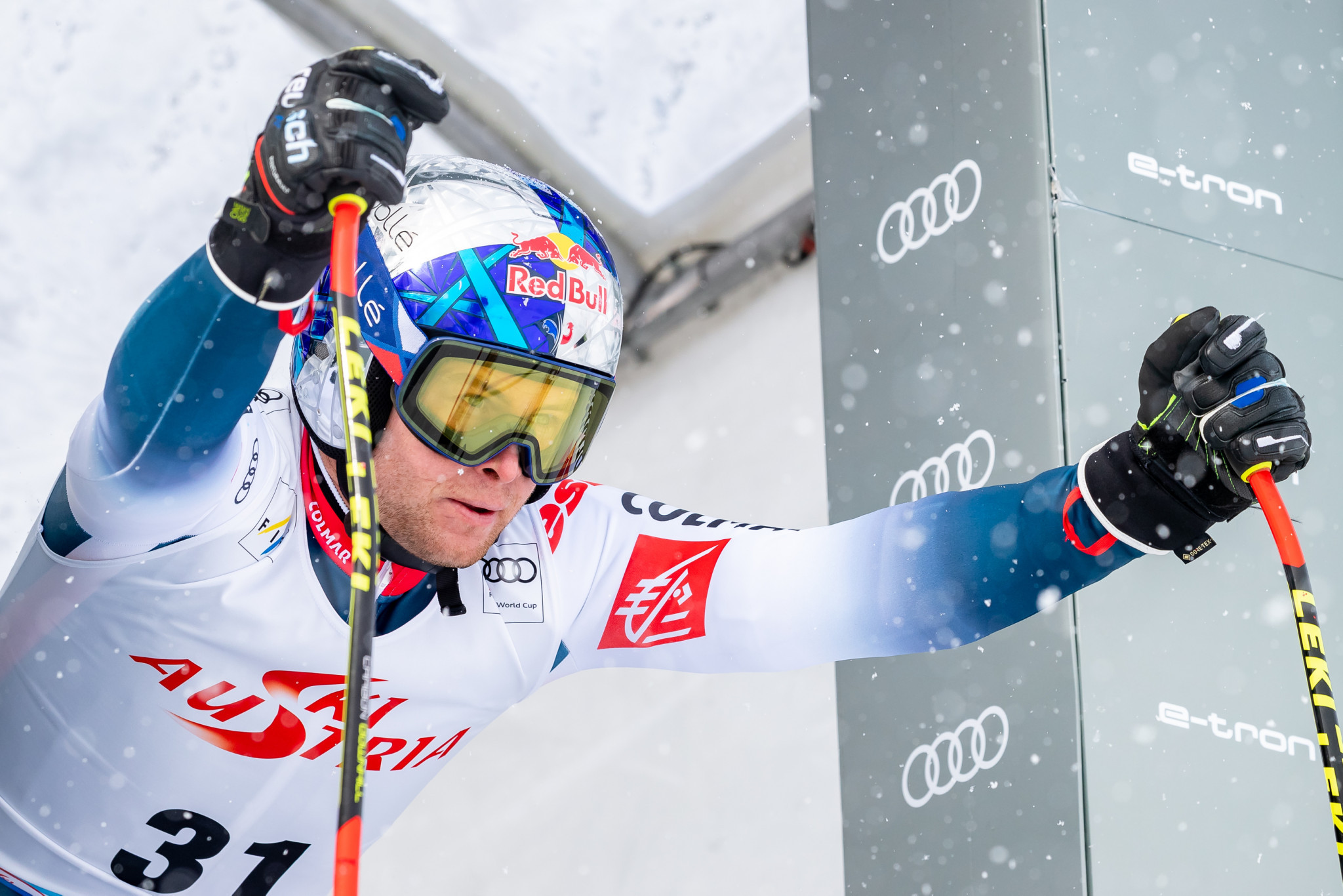 Pinturault poised for sixth overall combined title at Alpine Skiing World Cup in Hinterstoder