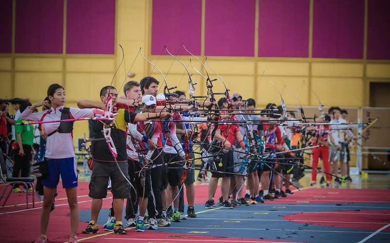 Americans dominate qualifying at Indoor Archery World Cup