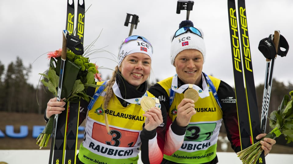 Norway and Ukraine strike relay gold at IBU Open European Championships