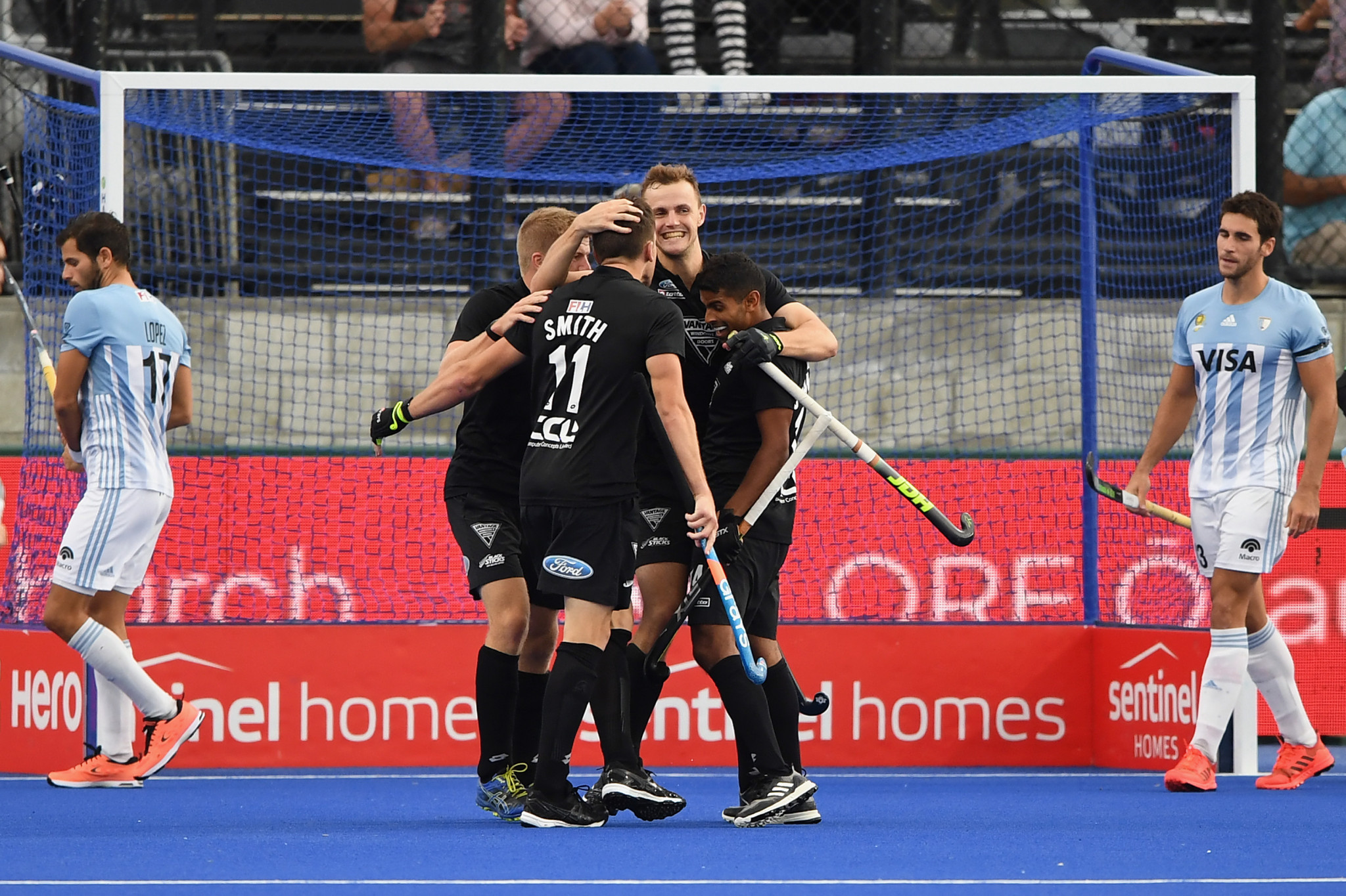 New Zealand beat Olympic champions Argentina in thriller in FIH Pro League