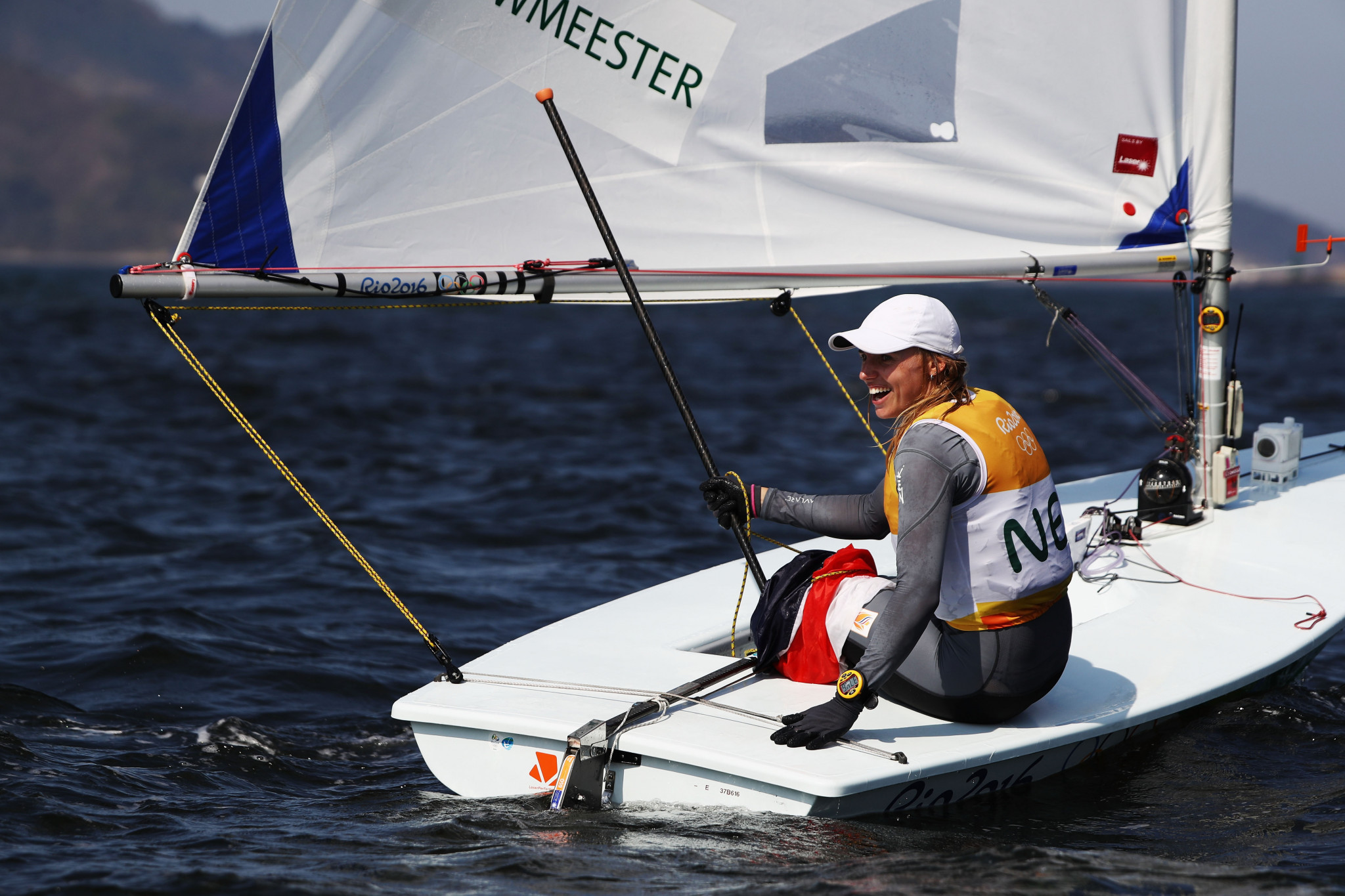 Weather comes to rescue as Bouwmeester secures gold at Laser Radial Women's World Championship