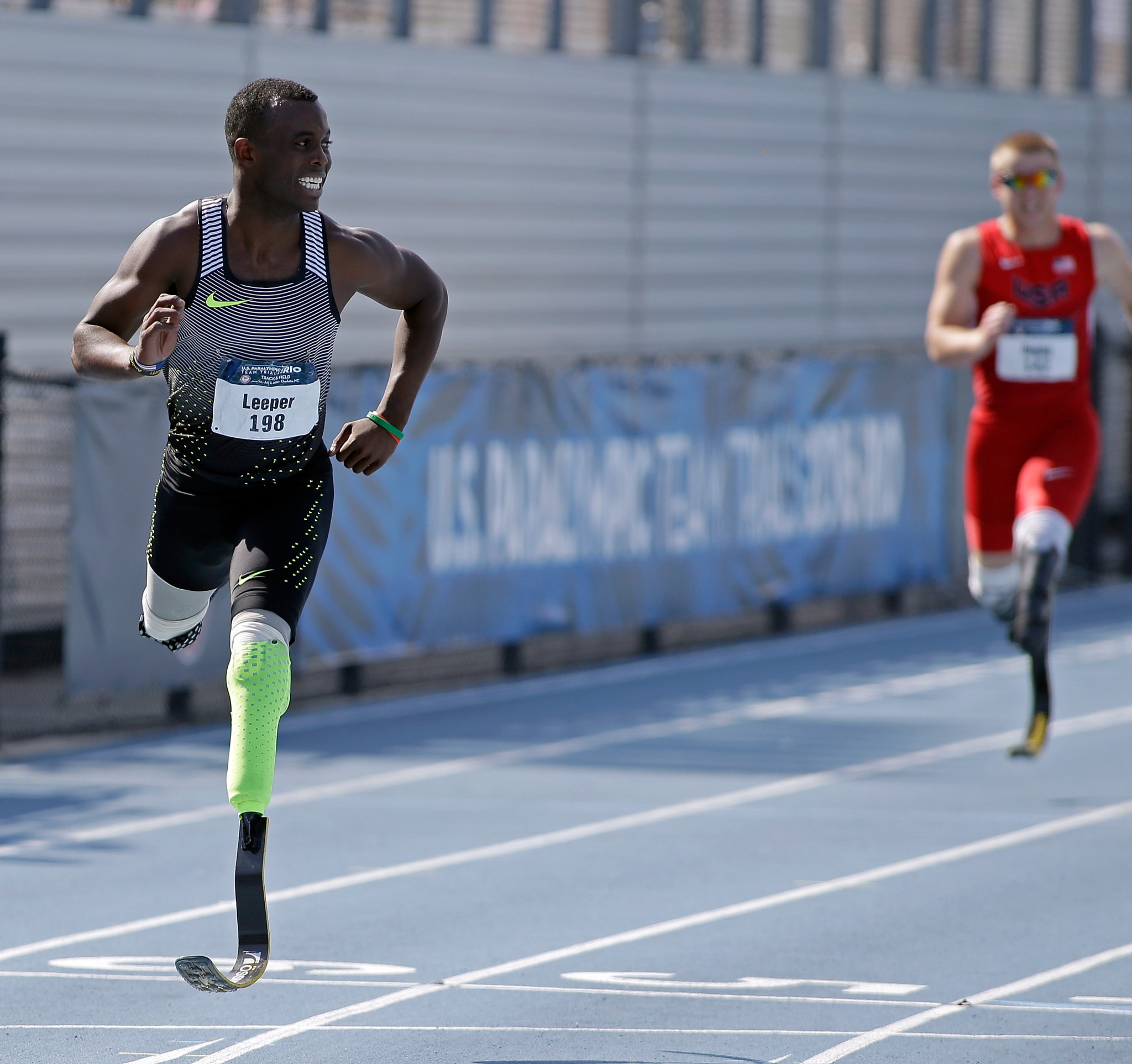 Blake Leeper of the United States has appealed World Athletic's decision to not allow him to compete against able-bodied athletes ©Getty Images