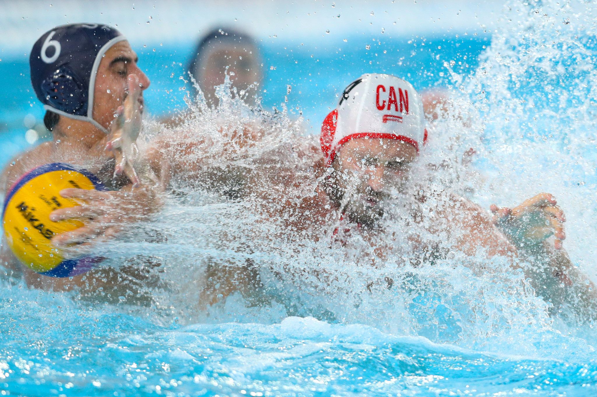 Canada's men's team will compete in a Tokyo 2020 qualifier later this month in Rotterdam ©Getty Images