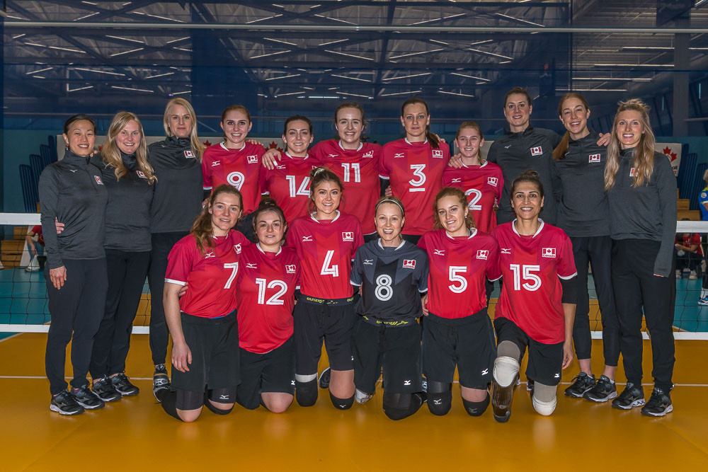 Three wins from three for hosts Canada at Tokyo 2020 sitting volleyball qualifier