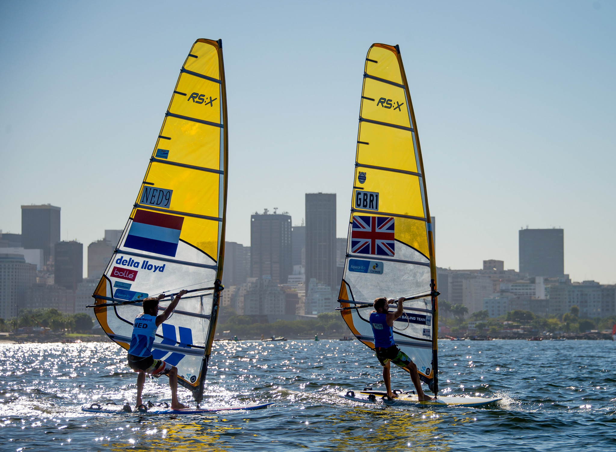 Badloe holds healthy lead ahead of medal race at RS:X World Championships