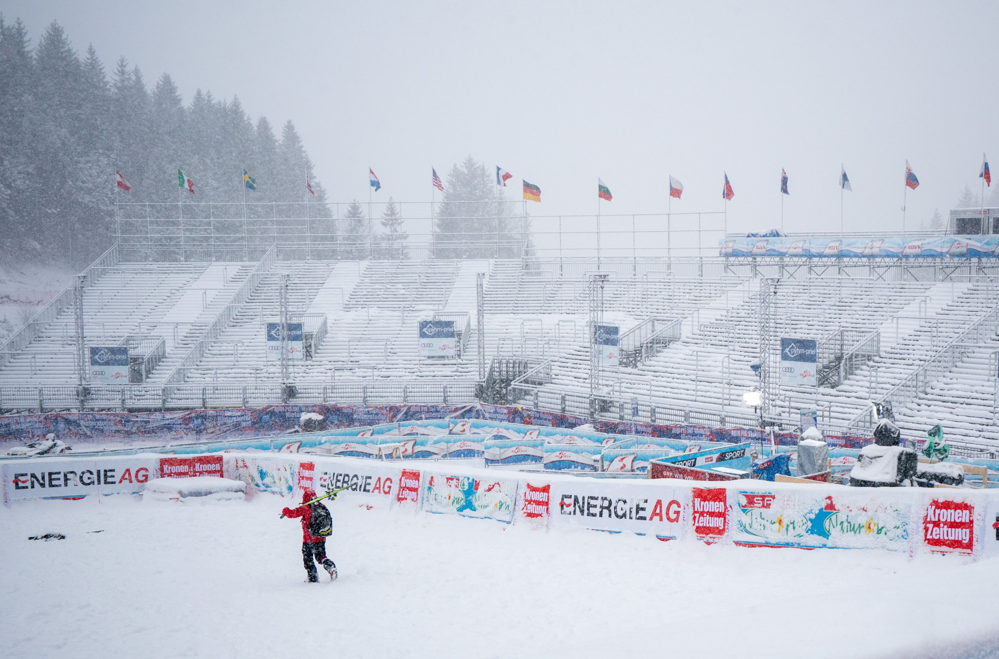 Combined event at FIS Alpine Skiing World Cup in Hinterstoder rescheduled due to weather