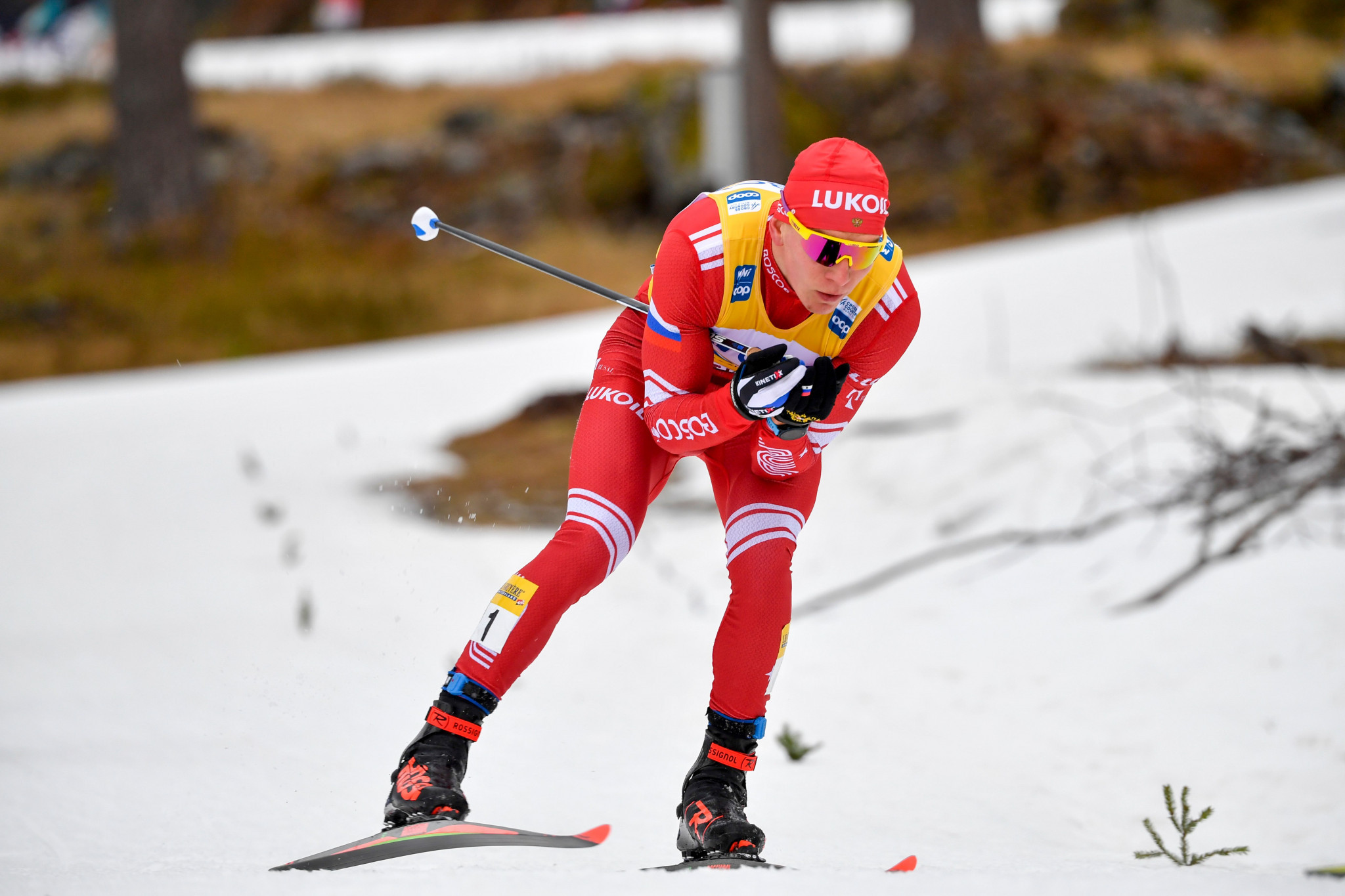 Alexander Bolshunov could take a step closer to winning the overall men's World Cup title ©Getty Images