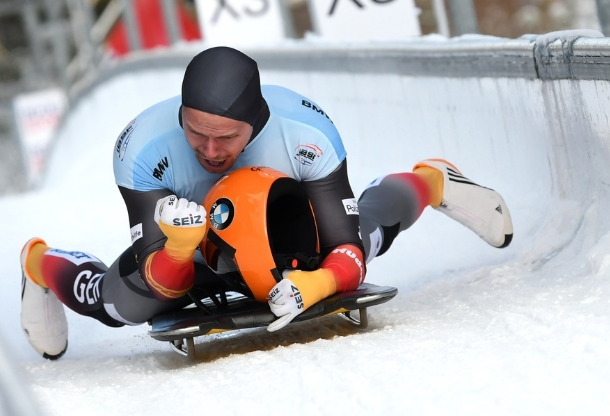 Grotheer leads men's skeleton medal sweep for hosts Germany at IBSF World Championships