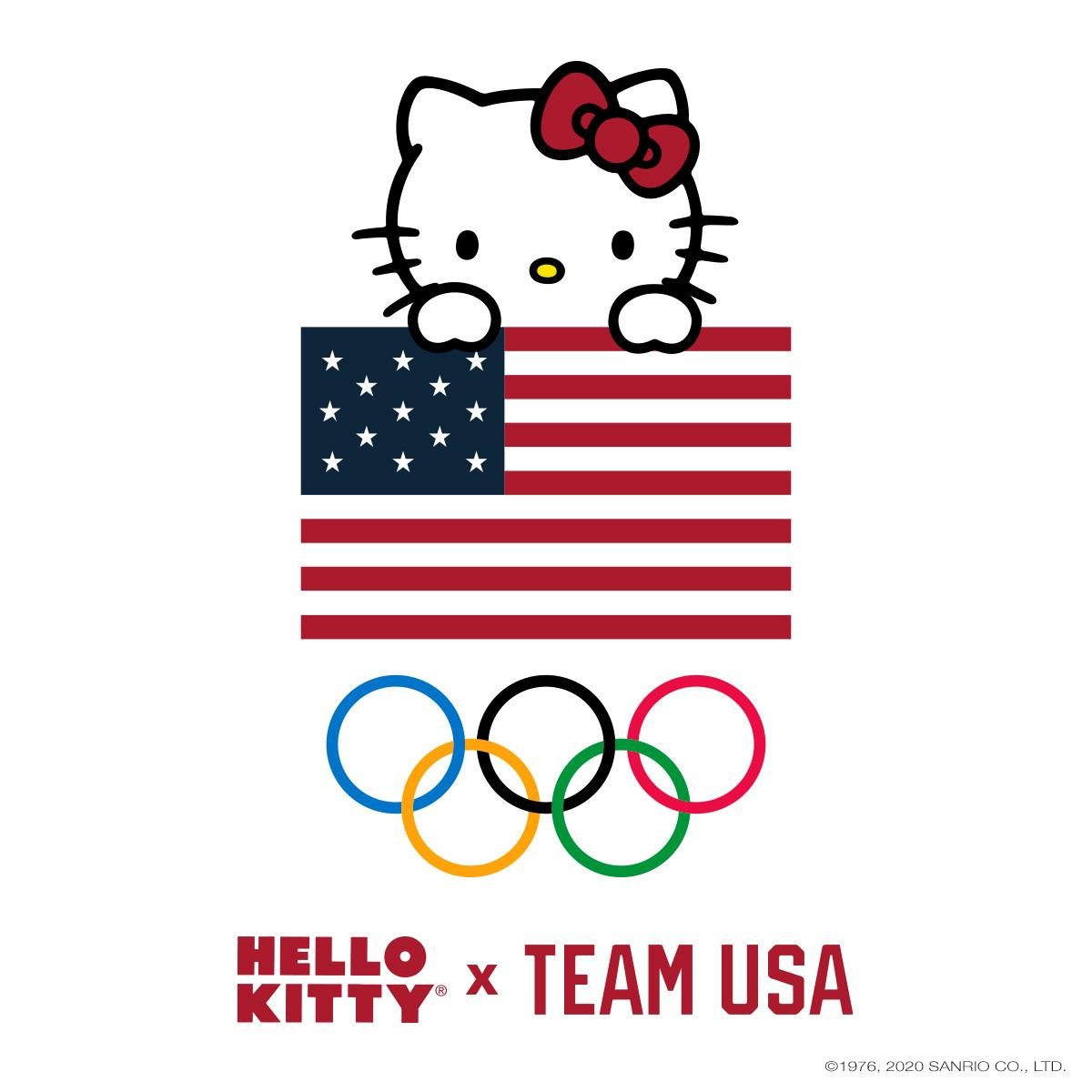 Hello Kitty partners with Team USA for Tokyo 2020 range