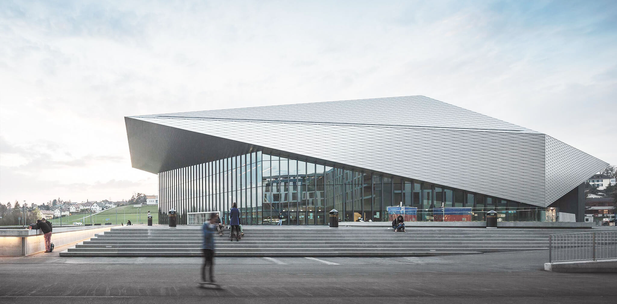 The symposium was due to take place at the SwissTech Convention Center in Lausanne ©SwissTech