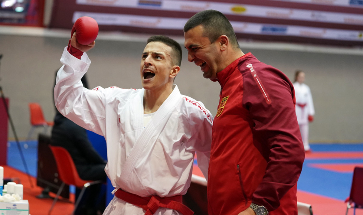 Pavlov to face world champion Crescenzo after day of upsets in Karate 1-Premier League