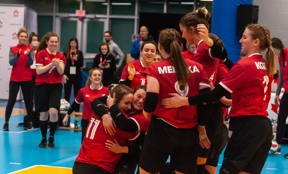 Canada and Ukraine to play for Tokyo 2020 sitting volleyball place