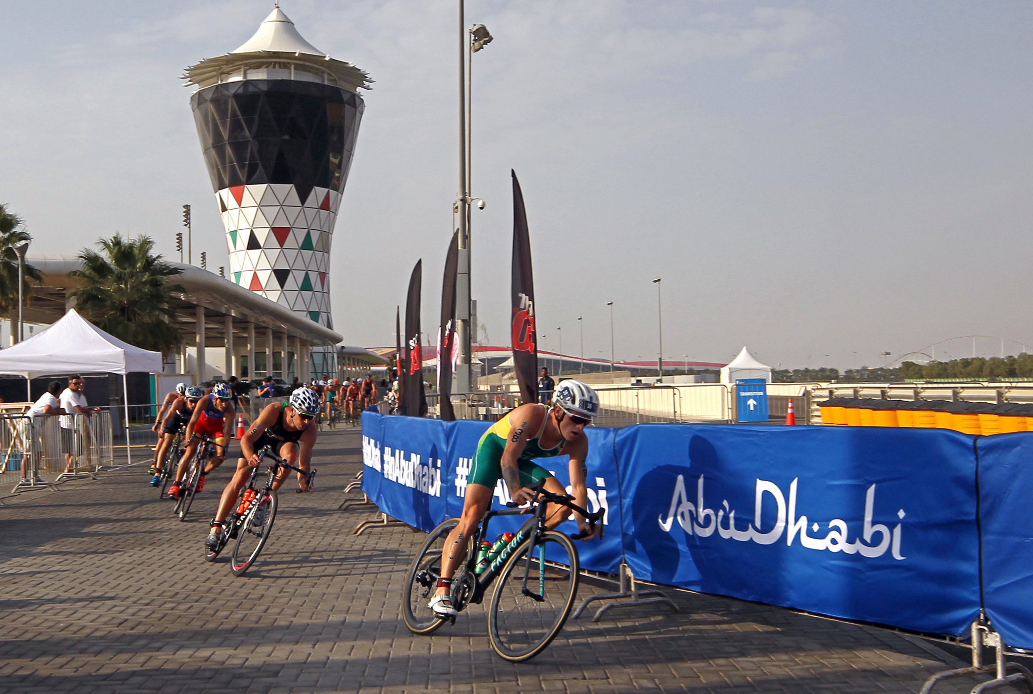 The ITU World Triathlon Series in Abu Dhabi has been postponed to reduce the spread of coronavirus ©Getty Images