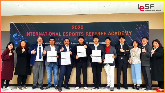 First trainees complete International Esports Referee Academy course