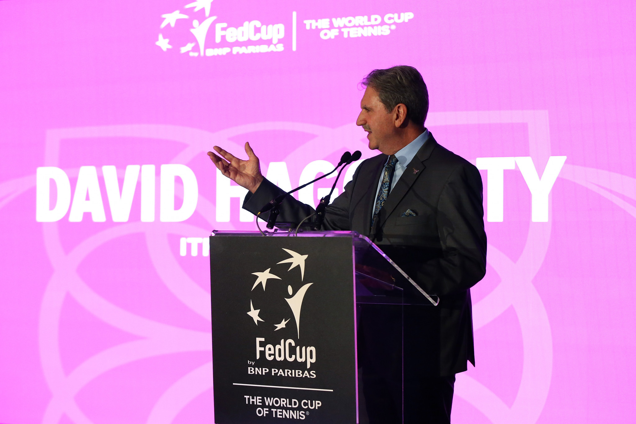 ITF President David Haggerty takes up the USOPC role after becoming an IOC member ©Getty Images