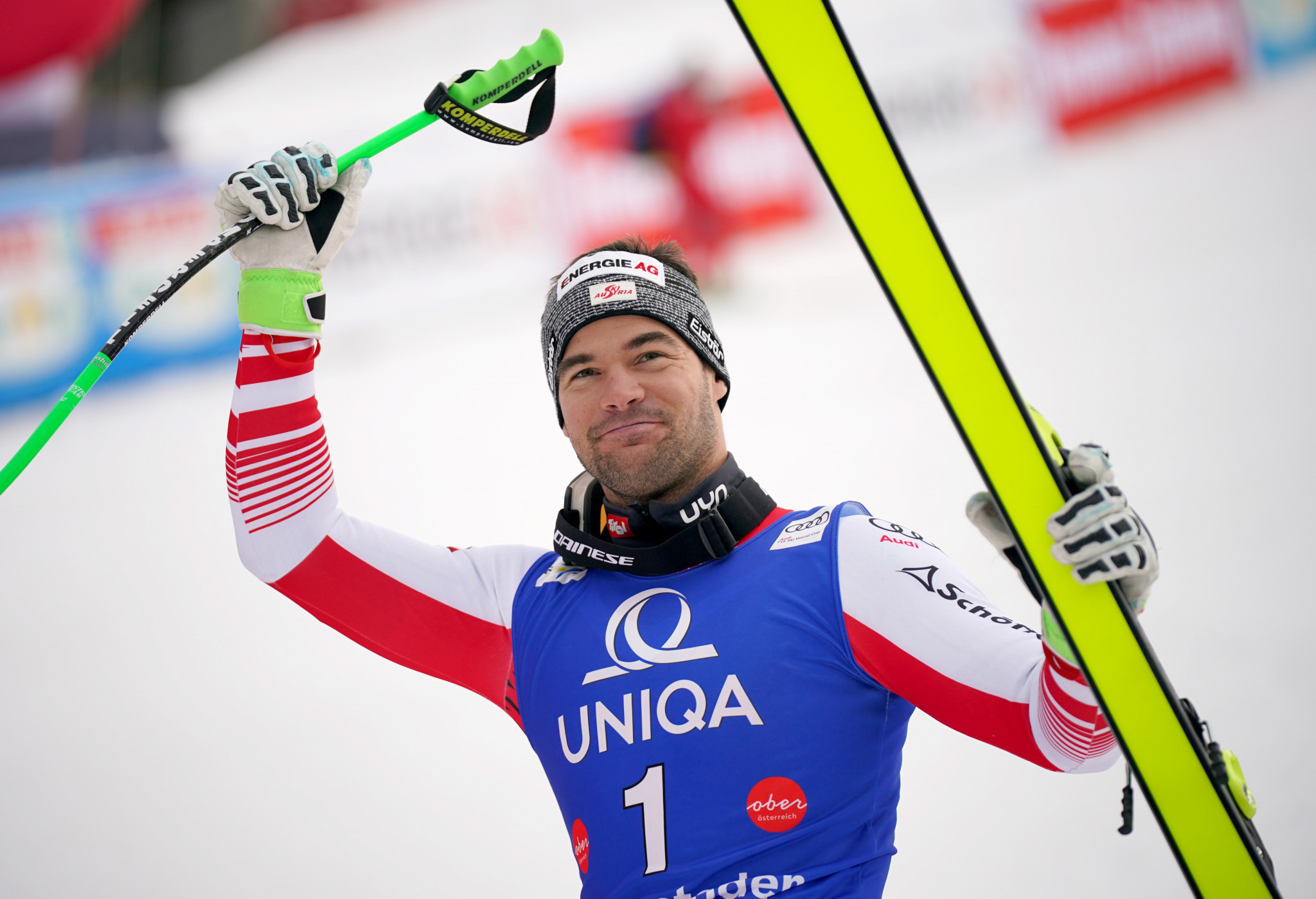 Kriechmayr delights home crowd with victory in FIS Alpine Skiing World Cup in Hinterstoder