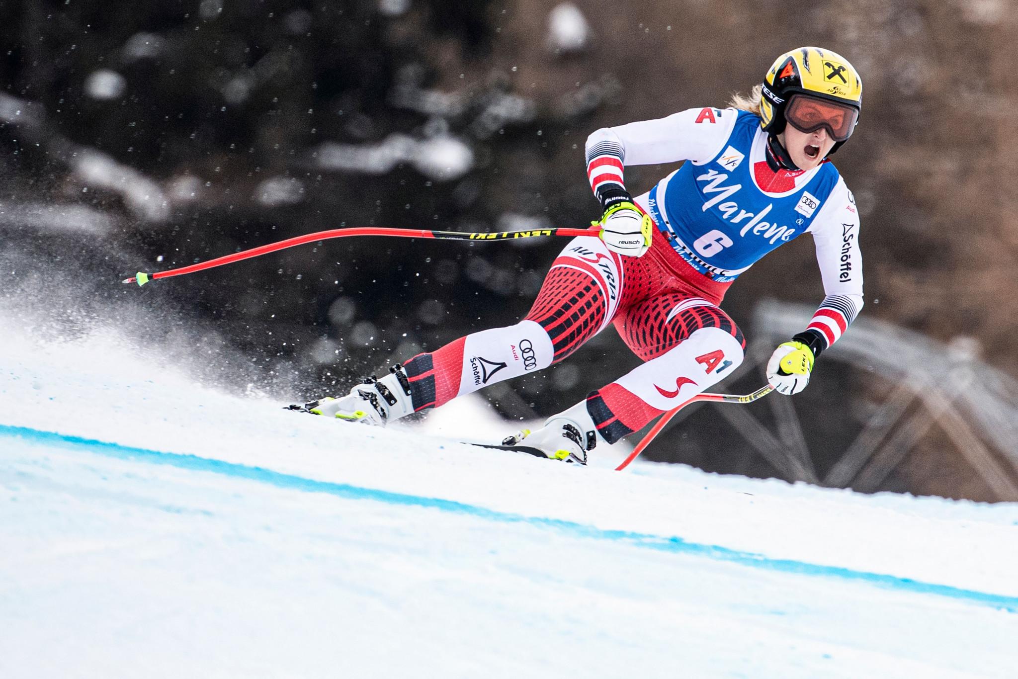 Ortlieb earns first FIS Alpine Skiing World Cup win in La Thuile