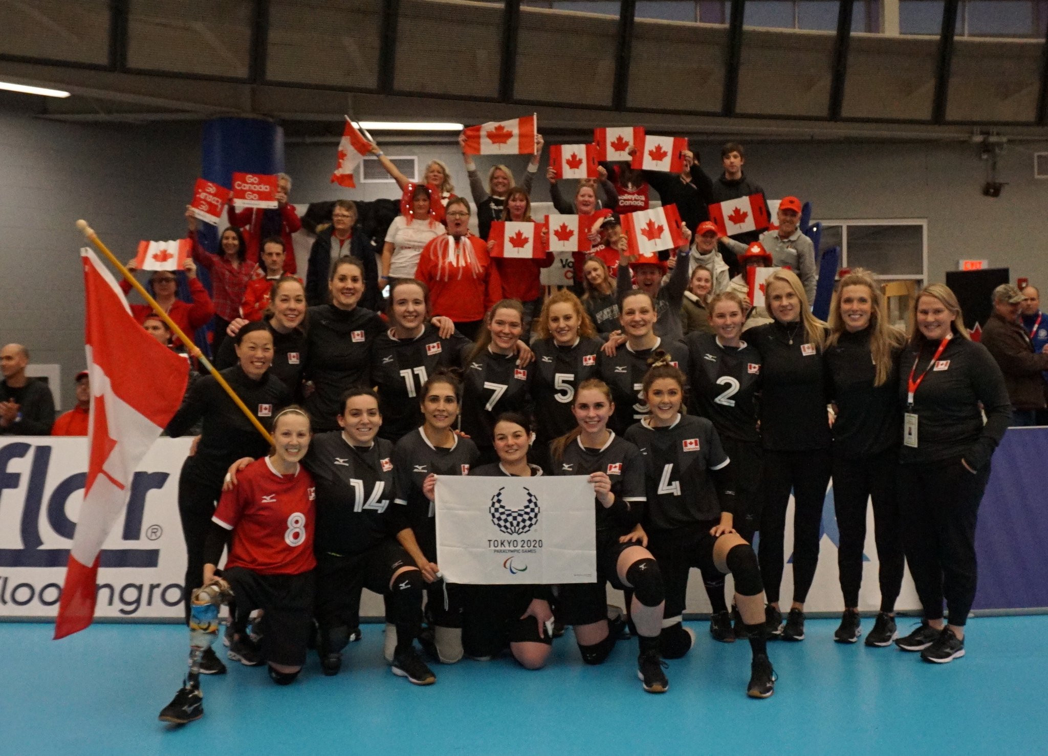 Perfect Canada beat Ukraine to book women's sitting volleyball Tokyo 2020 spot
