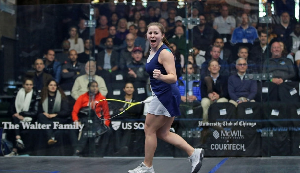 Americans reach quarter-finals of Windy City Open for first time