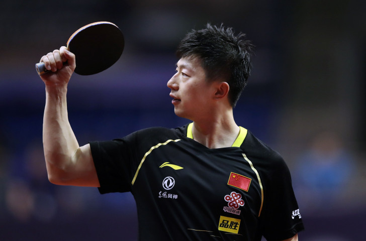 Rio 2016 men's singles table tennis champion Ma Long is among the Chinese players whose planned training break in Japan is now in jeopardy following new measures to combat the spread of the coronavirus ©Getty Images