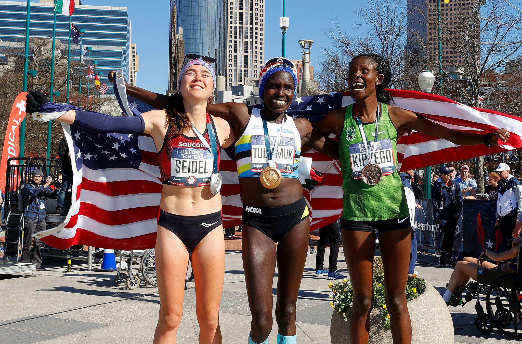 Rupp and Tuliamuk win US Olympic Marathon Trials