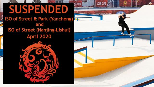 Two Olympic skateboarding qualifiers in China postponed over coronavirus