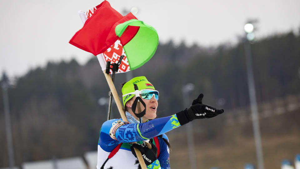 Hosts Belarus end IBU Open European Championships with clean sweep in pursuit events