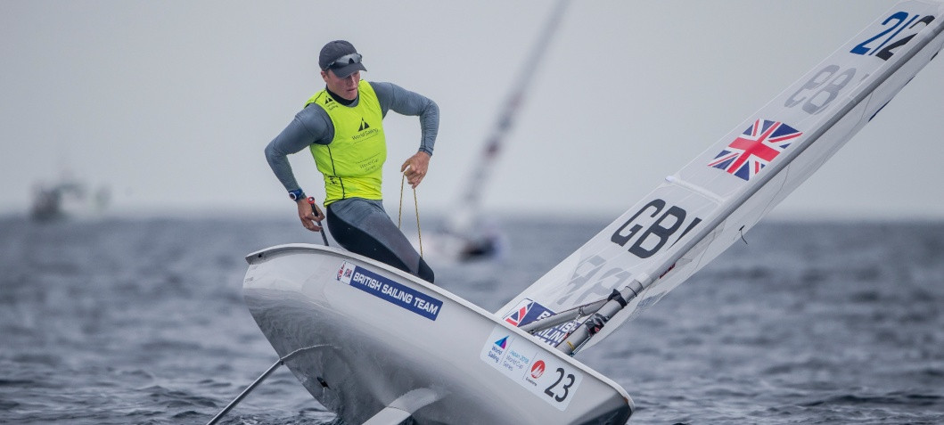 Elliot Hanson has been announced as the final member of Britain's sailing squad for the Tokyo 2020 Olympic Games ©World Sailing